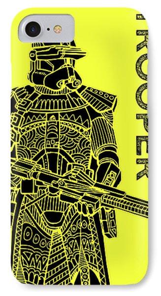 Stormtrooper - Yellow - Star Wars Art IPhone Case