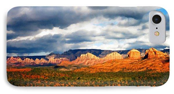 Stormwatch Arizona Phone Case by Kurt Van Wagner