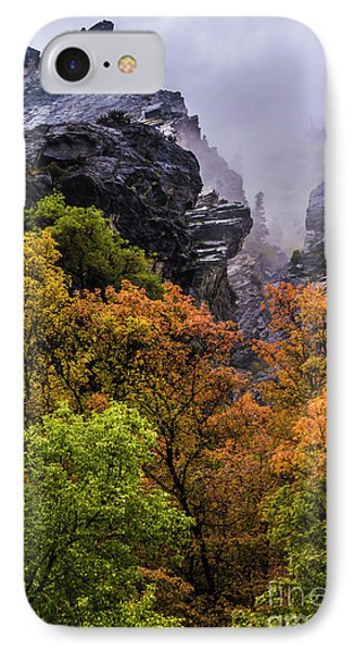 Stormy American Fork Canyon - Wasatch - Utah IPhone Case