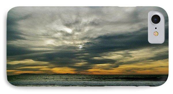 Stormy Beach Clouds IPhone Case