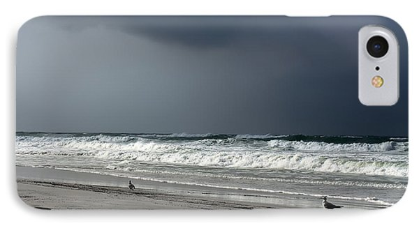 IPhone Case featuring the photograph Stormy by Debra Forand