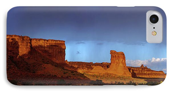 IPhone Case featuring the photograph Stormy Desert by Chad Dutson