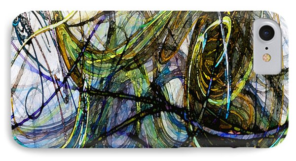 Stormy Monday Blues IPhone Case by Karin Kuhlmann