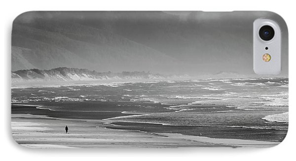 Stormy Oceanside Oregon IPhone Case by Amyn Nasser