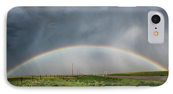 Stormy Rainbow IPhone Case by Ryan Crouse