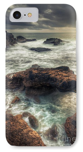 Stormy Seascape IPhone Case by Carlos Caetano