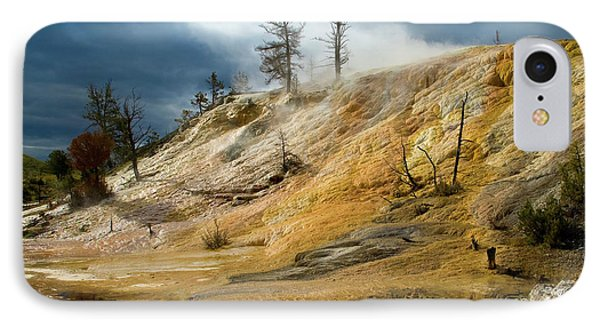 Stormy Skies At Mammoth IPhone Case by Steve Stuller