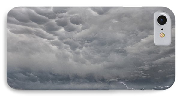 IPhone Case featuring the photograph Stormy Skies In Wyoming by Sandra Bronstein