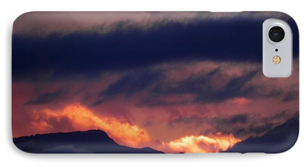 Stormy Sunset Phone Case by Adrienne Petterson