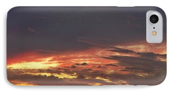 Stormy Sunset IPhone Case by Betty Northcutt