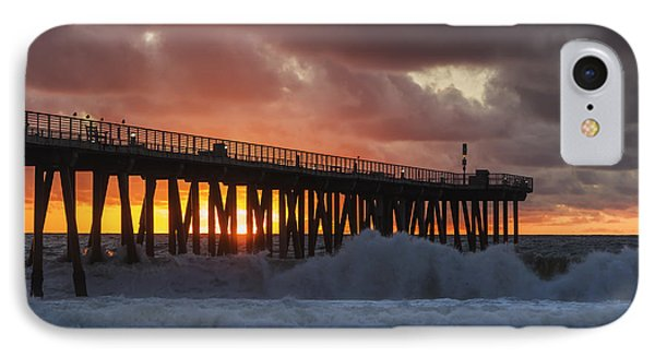 Stormy Sunset IPhone Case