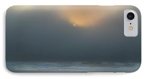 IPhone Case featuring the photograph Stormy Sunset Oregon Coast by Yulia Kazansky
