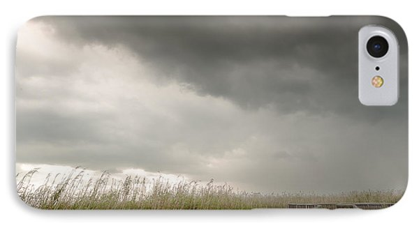 Stormy Walk IPhone Case by Allen Biedrzycki