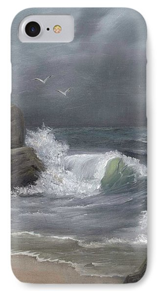 Stormy Waters IPhone Case by Sheri Keith