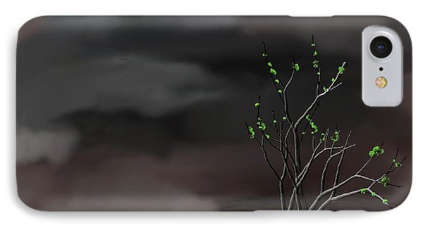 Stormy Weather Phone Case by David Lane