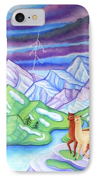 Stormy Weather IPhone Case by Tracy Dennison