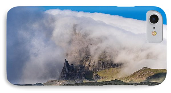 IPhone 7 Case featuring the photograph Storr In Cloud by Gary Eason