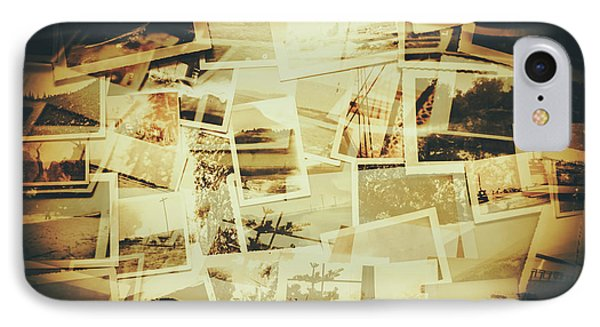 Storyboard Of Past Memories IPhone Case by Jorgo Photography - Wall Art Gallery