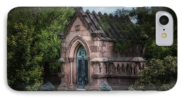 Strader Mausoleum IPhone Case by Tom Mc Nemar
