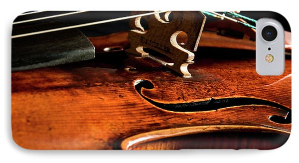 IPhone Case featuring the photograph Stradivarius by Endre Balogh