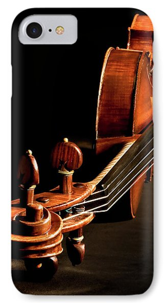 IPhone Case featuring the photograph Stradivarius From The Top by Endre Balogh