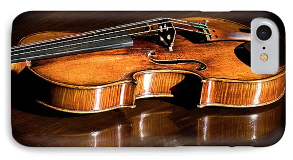 IPhone Case featuring the photograph Stradivarius In Sunlight by Endre Balogh