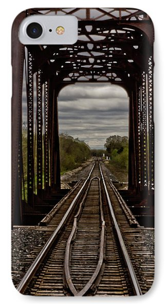 Straight And Narrow IPhone Case by Jill Smith
