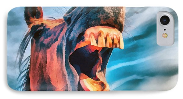Straight From The Horses Mouth IPhone Case