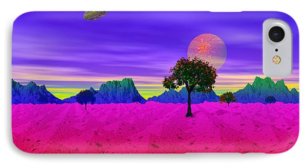 Strangely Place IPhone Case
