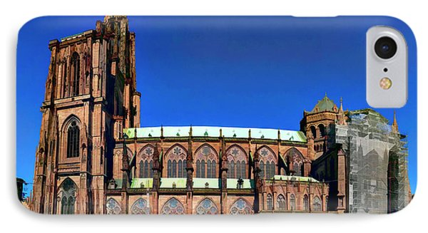 Strasbourg Catheral IPhone Case by Alan Toepfer