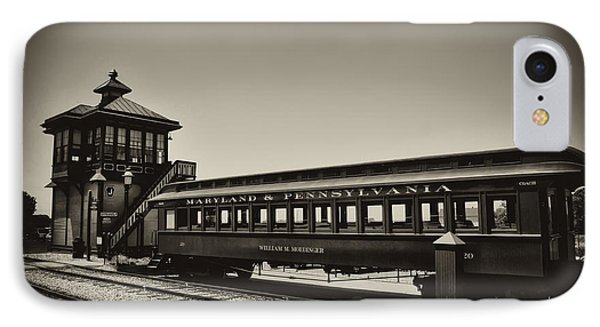 Strasburg Rail Road Phone Case by Bill Cannon