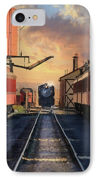 IPhone Case featuring the photograph Strasburg Railroad Station by Lori Deiter