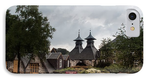 IPhone Case featuring the photograph Strathisla Whisky Distillery Scotland #3 by Jan Bickerton