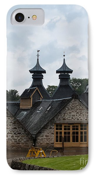 IPhone Case featuring the photograph Strathisla Whisky Distillery Scotland #4 by Jan Bickerton