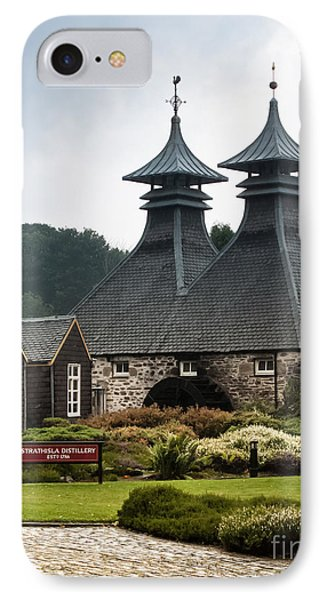 Strathisla Whisky Distillery Scotland IPhone Case