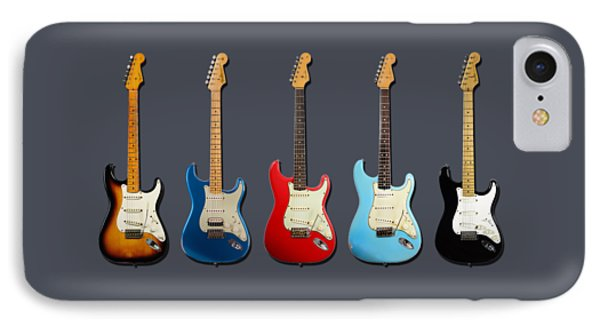Stratocaster IPhone 7 Case by Mark Rogan