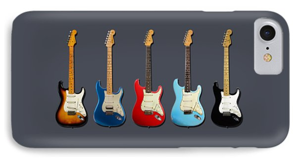 Stratocaster IPhone Case by Mark Rogan