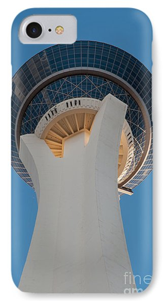Stratosphere Tower Up Close Phone Case by Andy Smy