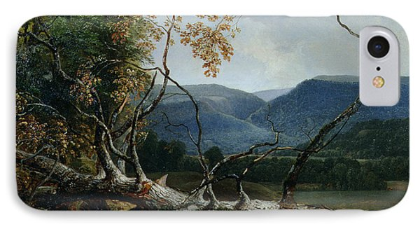 Stratton Notch - Vermont IPhone Case by Asher Brown Durand