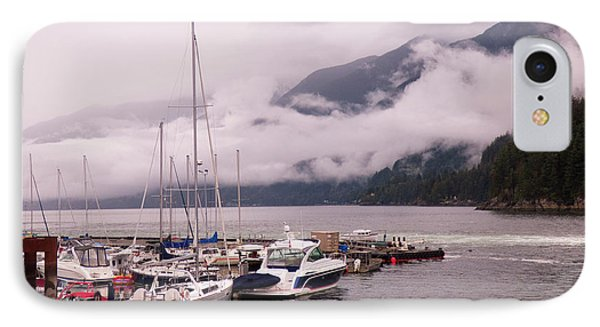 Stratus Clouds Over Horseshoe Bay IPhone Case