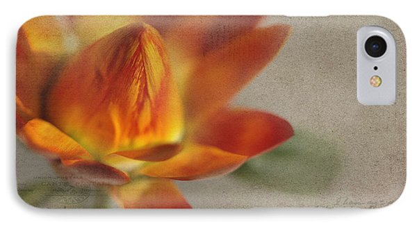 Straw Flower Phone Case by Rebecca Cozart