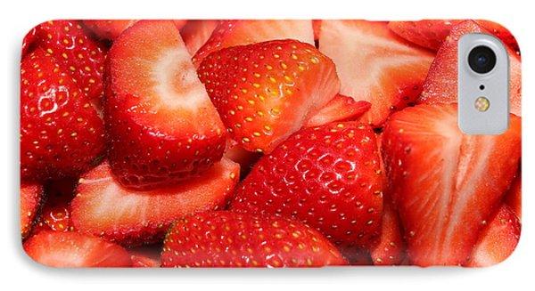 Strawberries 32 IPhone Case
