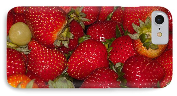 Strawberries 731 IPhone Case