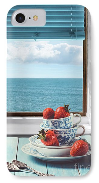 Strawberries By The Sea IPhone Case