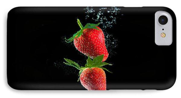 Strawberry Falls IPhone Case