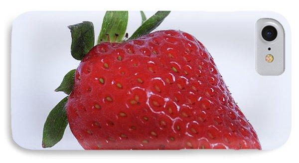 Strawberry IPhone Case by Julia Wilcox