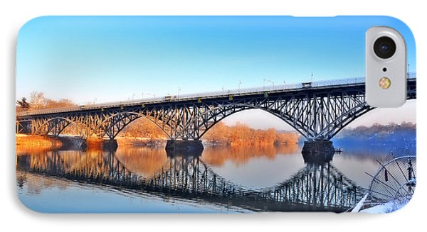 Strawberry Mansion Bridge  Phone Case by Bill Cannon