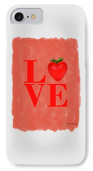 Strawberry IPhone Case by Mark Rogan