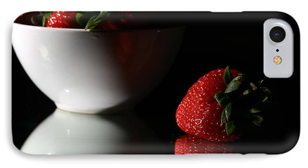 Strawberry Phone Case by Michael Ledray