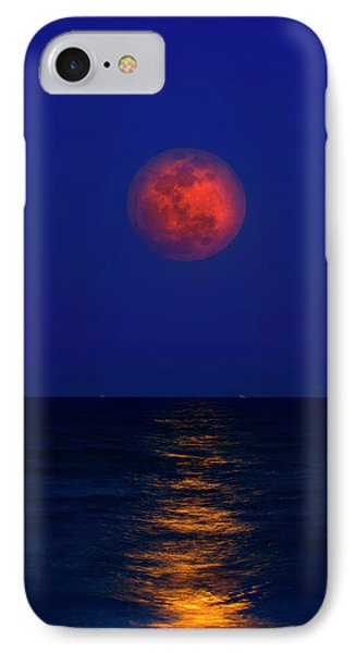 Strawberry Moon IPhone Case by Mark Andrew Thomas